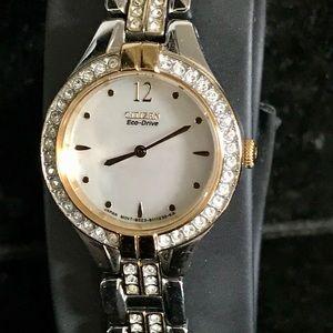 Citizen Ladies Watch with matching bracelet
